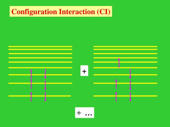 Configuration Interaction (CI)