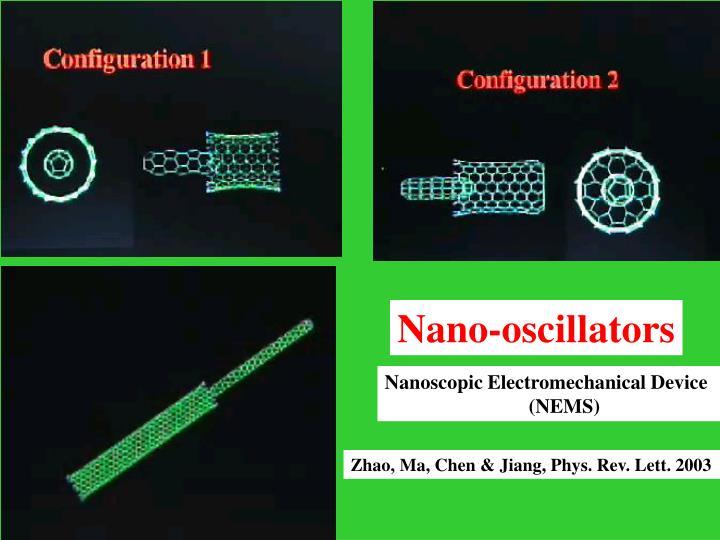 Nano-oscillators