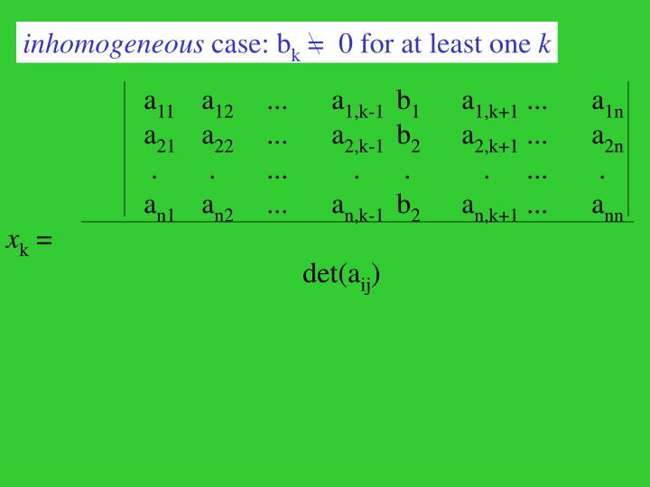 inhomogeneous