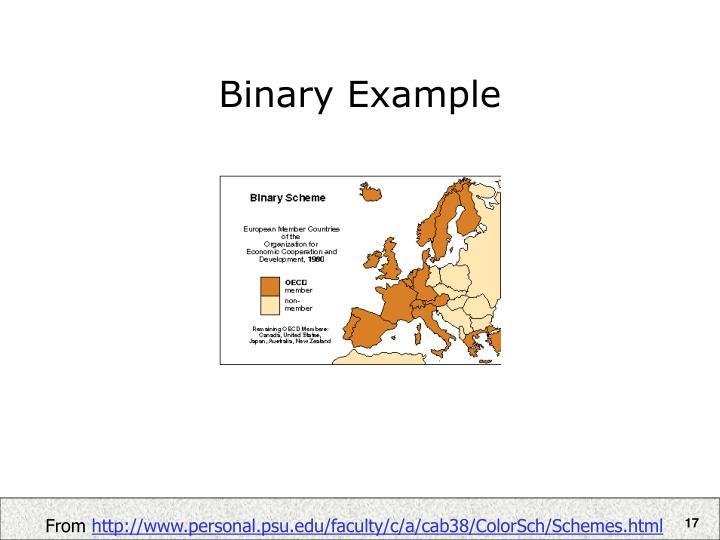 Binary Example