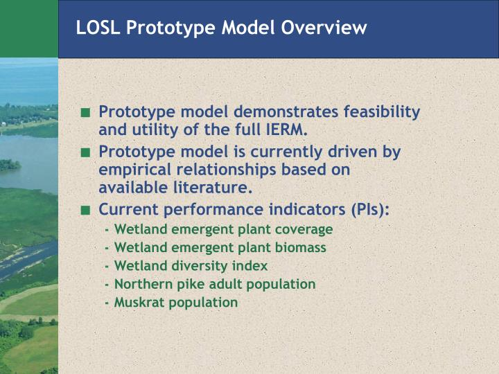 LOSL Prototype Model Overview