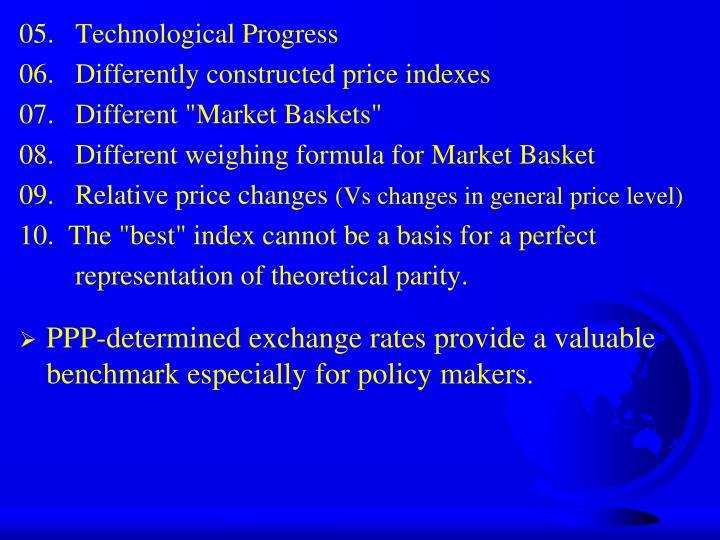 05.   Technological Progress