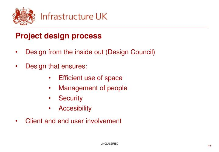 Project design process