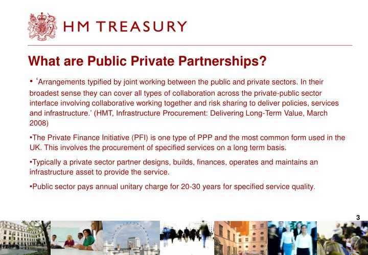 What are public private partnerships