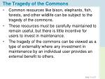 the tragedy of the commons1