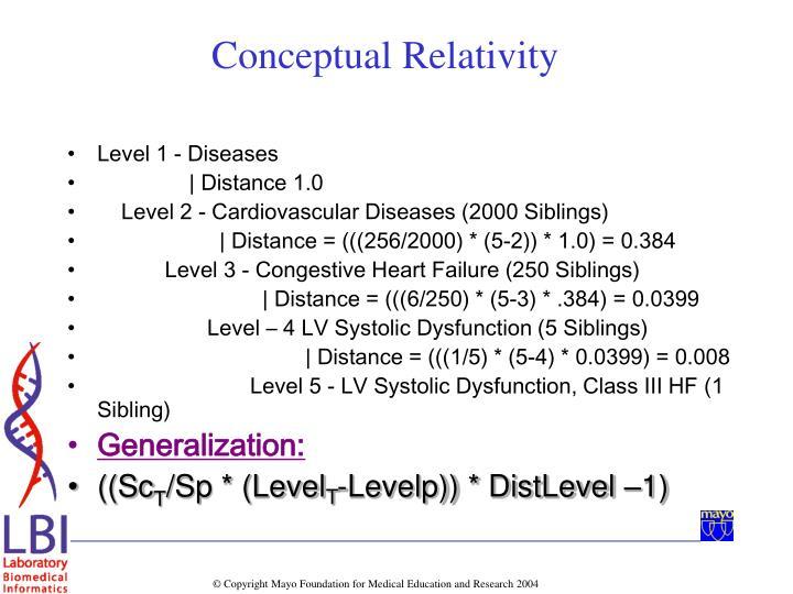 Level 1 - Diseases