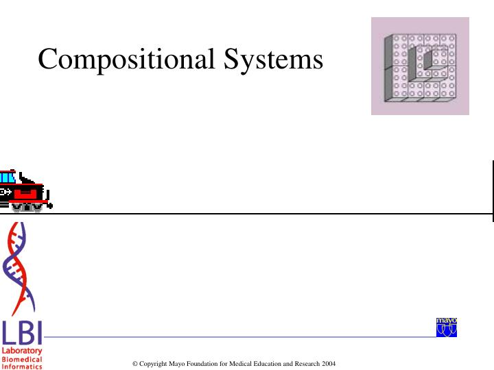 Compositional Systems