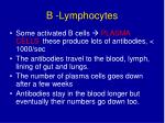 b lymphocytes3