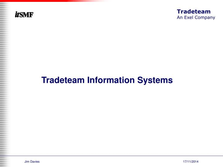 Tradeteam Information Systems