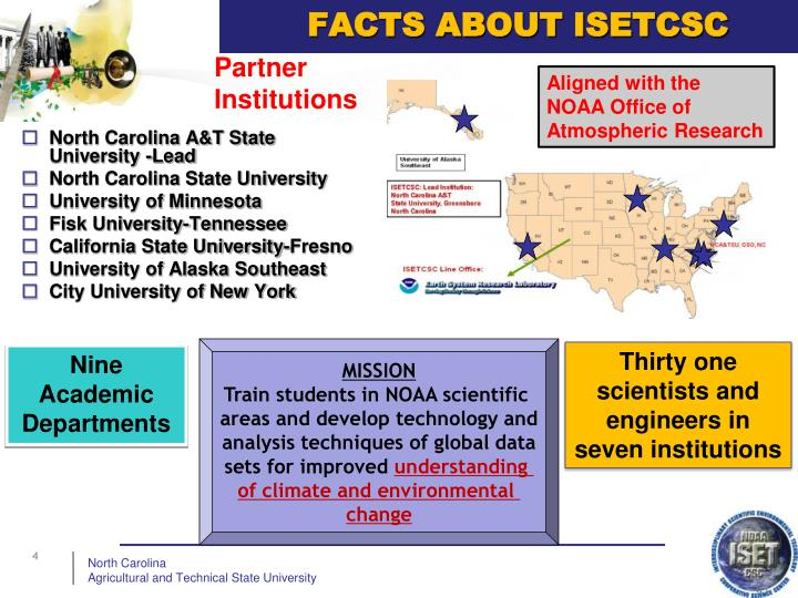 FACTS ABOUT ISETCSC