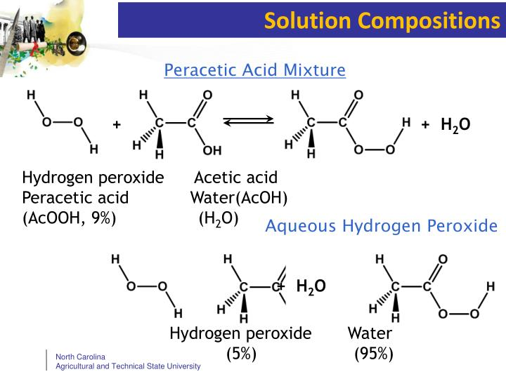 Solution Compositions