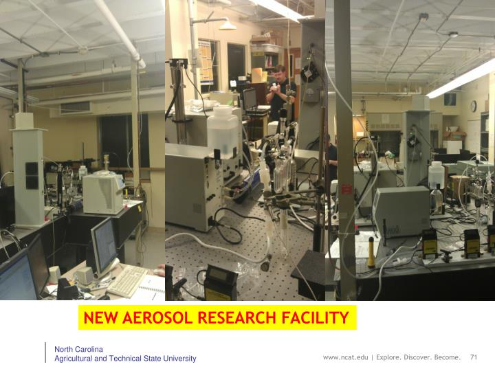 NEW AEROSOL RESEARCH FACILITY