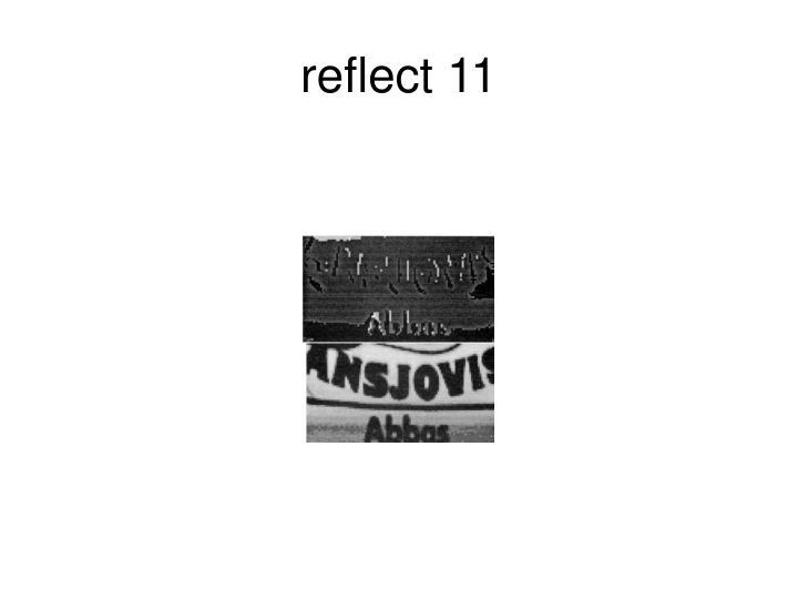 reflect 11
