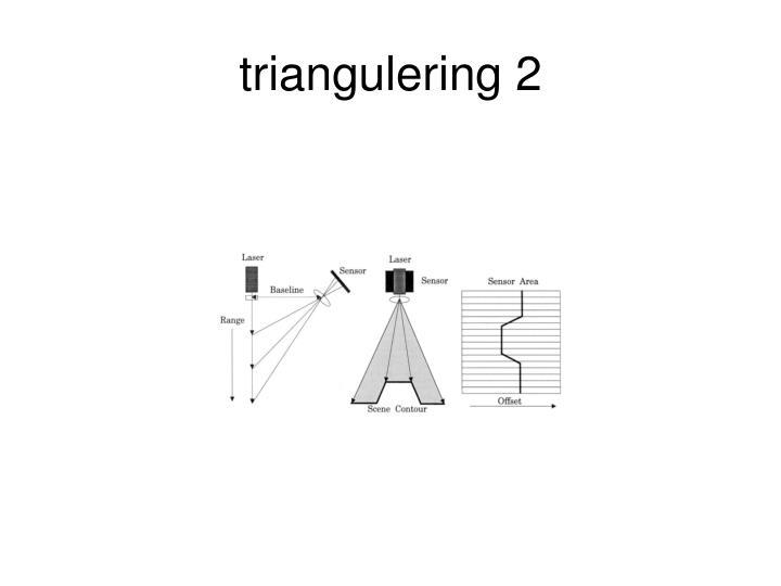 Triangulering 2
