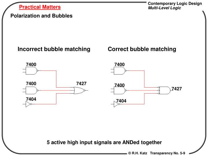 Incorrect bubble matching