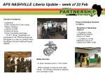 aps nashville liberia update week of 23 feb