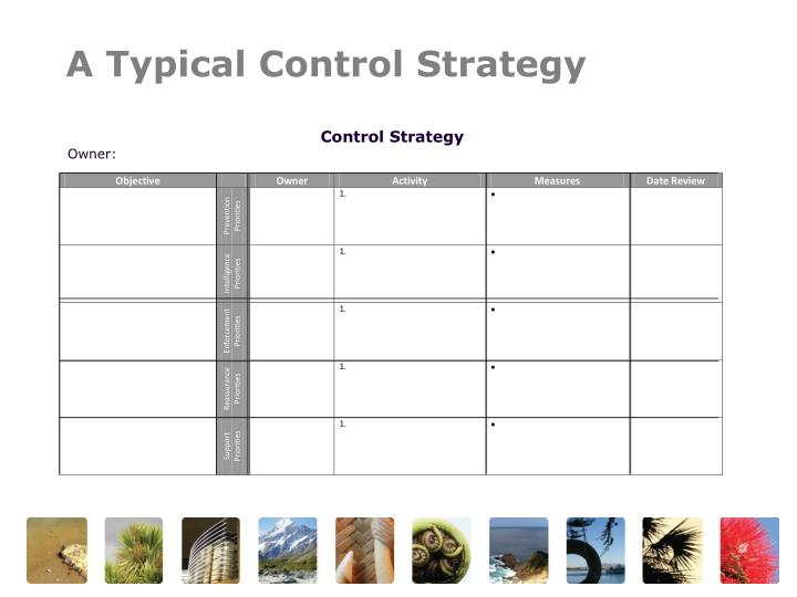 A Typical Control Strategy