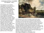 landscape painting j constable the haywain 1821
