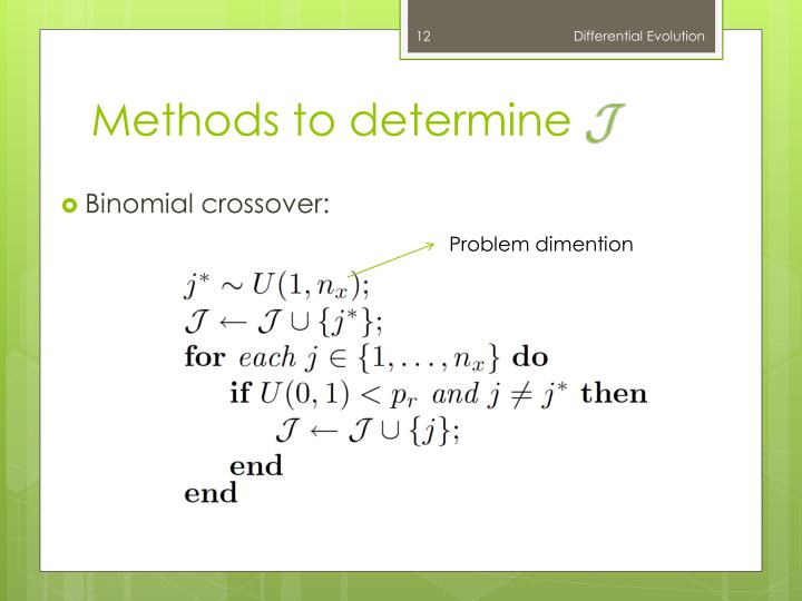 Methods to determine