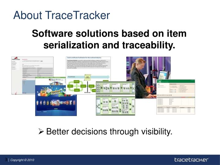 About tracetracker