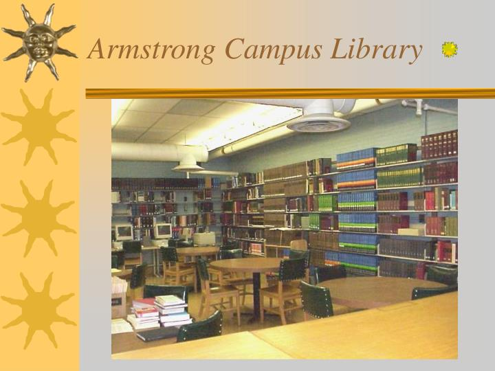 Armstrong Campus Library
