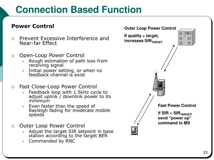 Connection Based Function