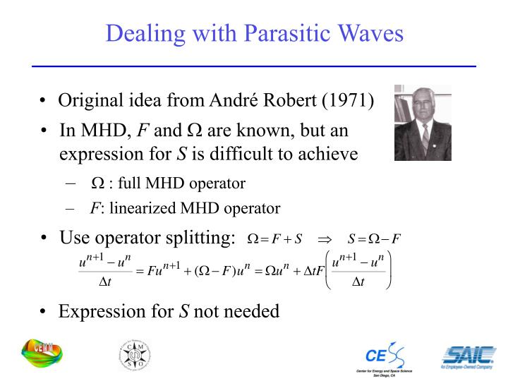 Dealing with Parasitic Waves