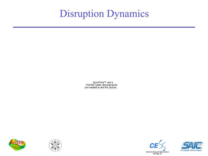 Disruption Dynamics
