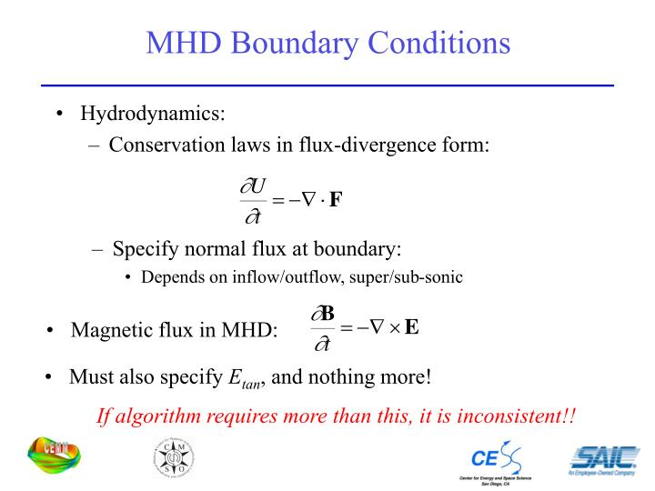 MHD Boundary Conditions