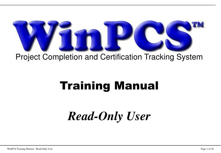 Project Completion and Certification Tracking System