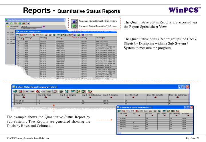 Reports -