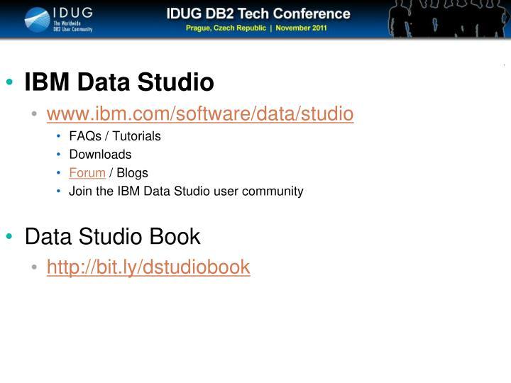 IBM Data Studio