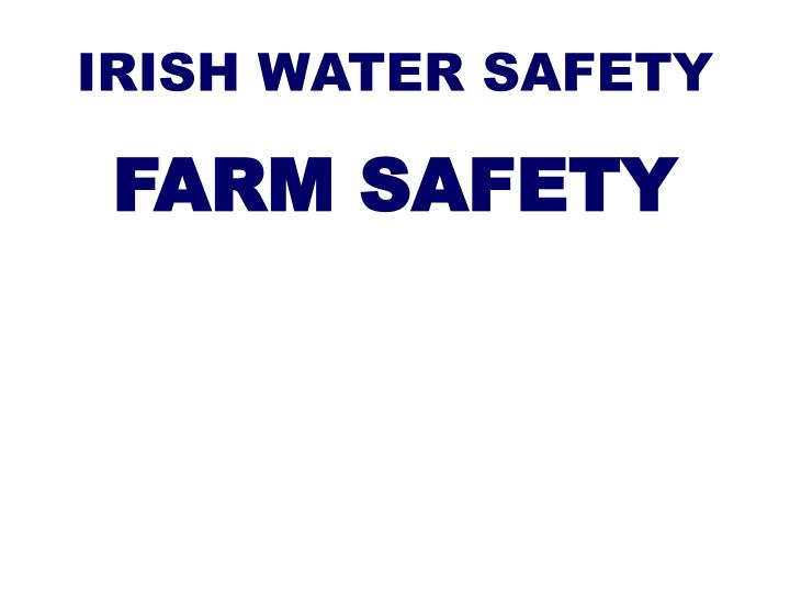 irish water safety n.