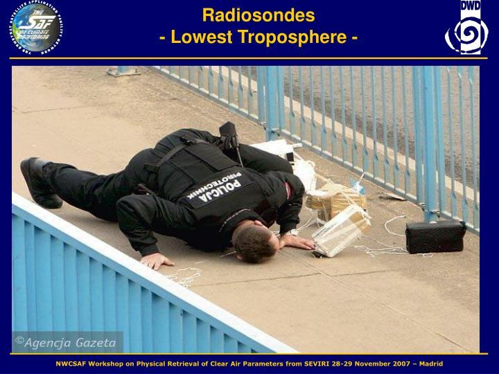 Radiosondes