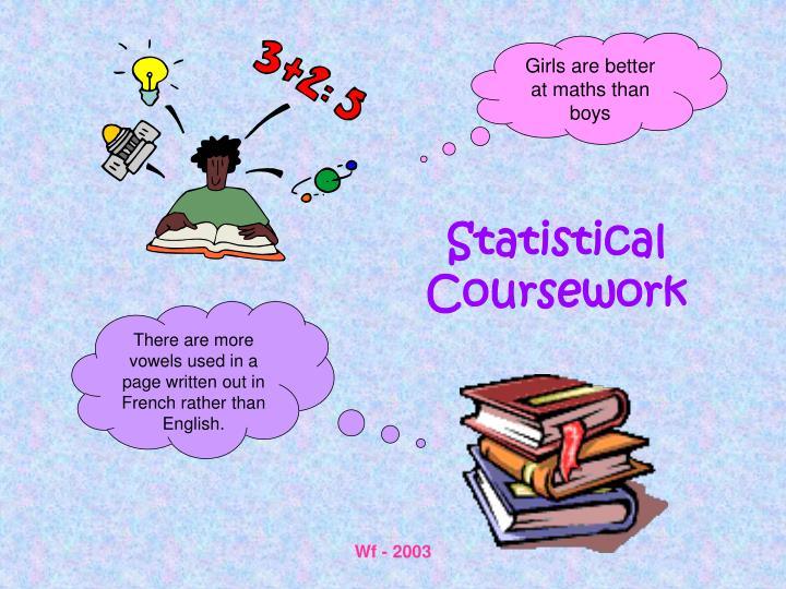 Statistical coursework