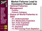 market failures lead to excessive present use1