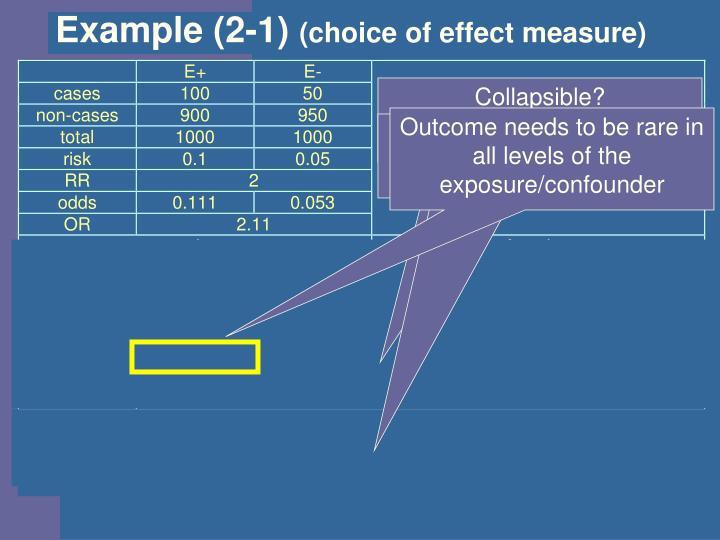 Example (2-1)