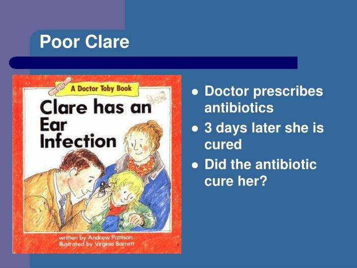 Poor Clare