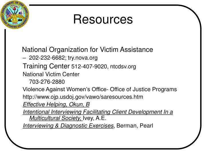 National Organization for Victim Assistance