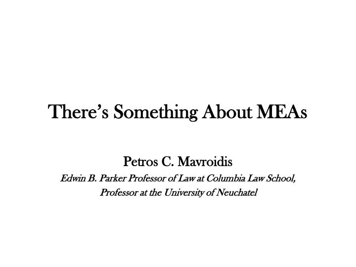 there s something about meas n.