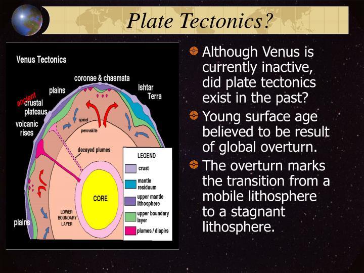 Plate Tectonics?