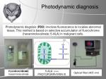 p hotodynamic diagnosis