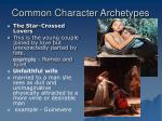 common character archetypes