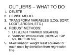 outliers what to do