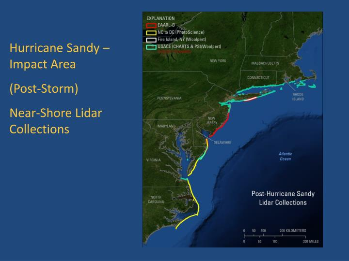 Hurricane Sandy – Impact Area