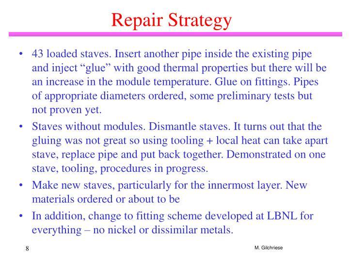 Repair Strategy