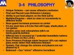 3 4 philosophy