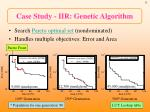 case study iir genetic algorithm