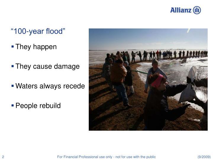 100 year flood
