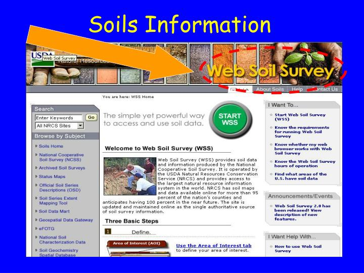 Soils Information